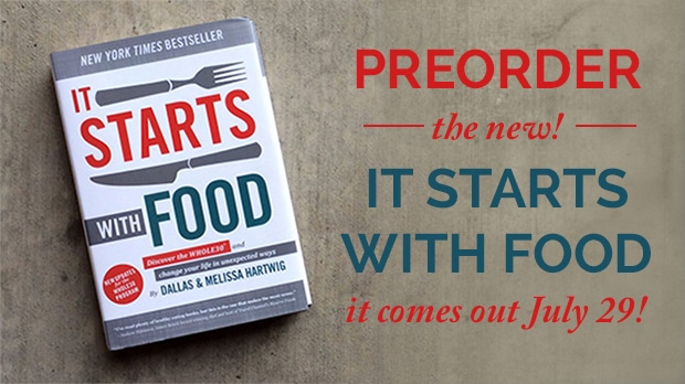PreOrder the NEW Whole30 Book: It Starts with Food!
