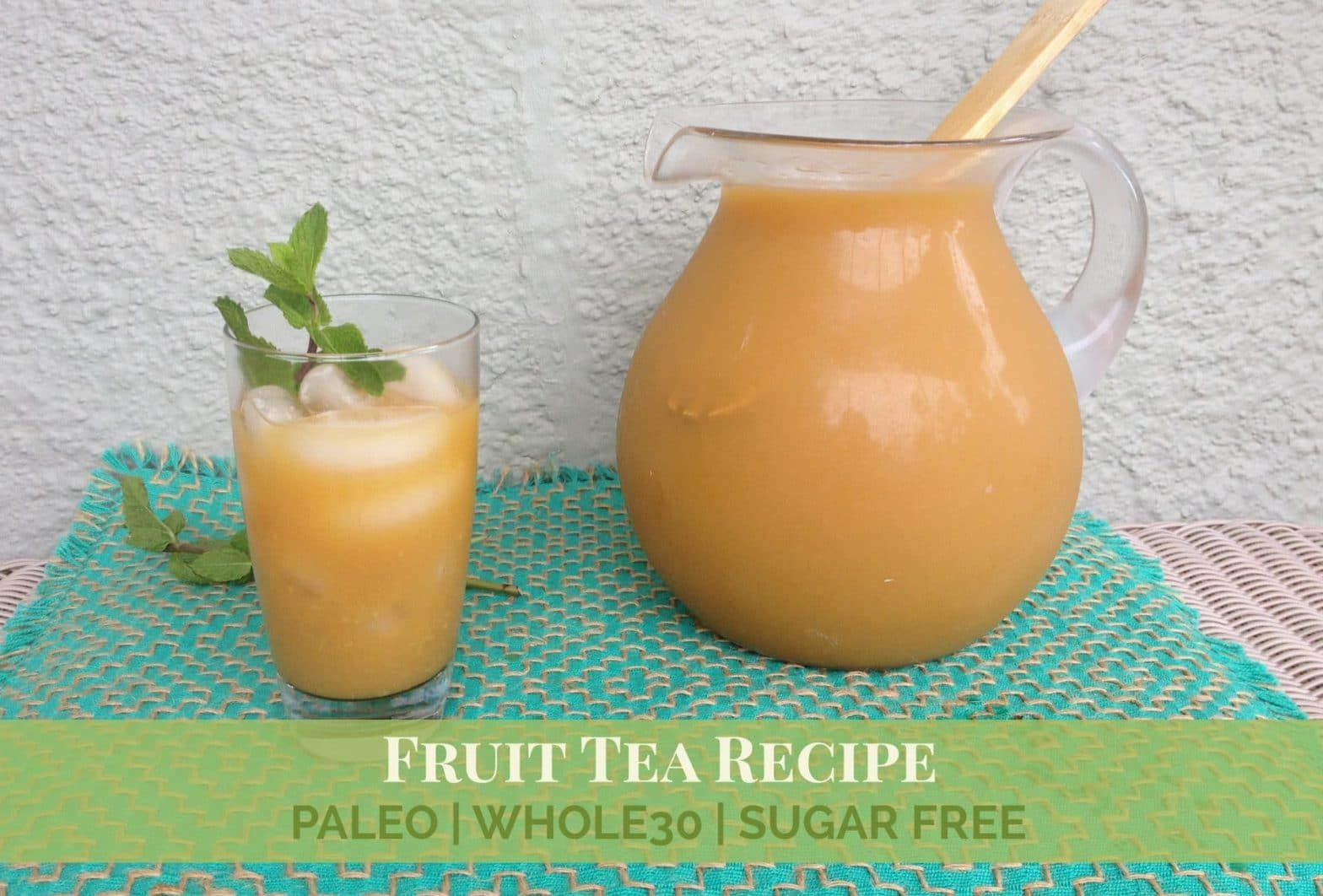 Bread and company fruit tea recipe olive you whole for Easy fruit tea recipe