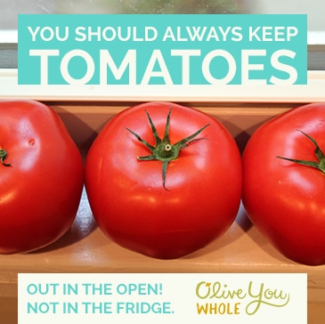Tuesday Tips and Tricks   Tomatoes out in Open #tipsandtricks #oliveyouwhole #tomatoes #produce
