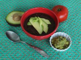 Vegan Black Bean Soup #panera #vegan #veganrecipes #oliveyouwhole