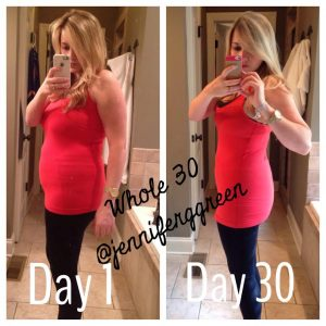 Jennifer Green's Whole30 Results