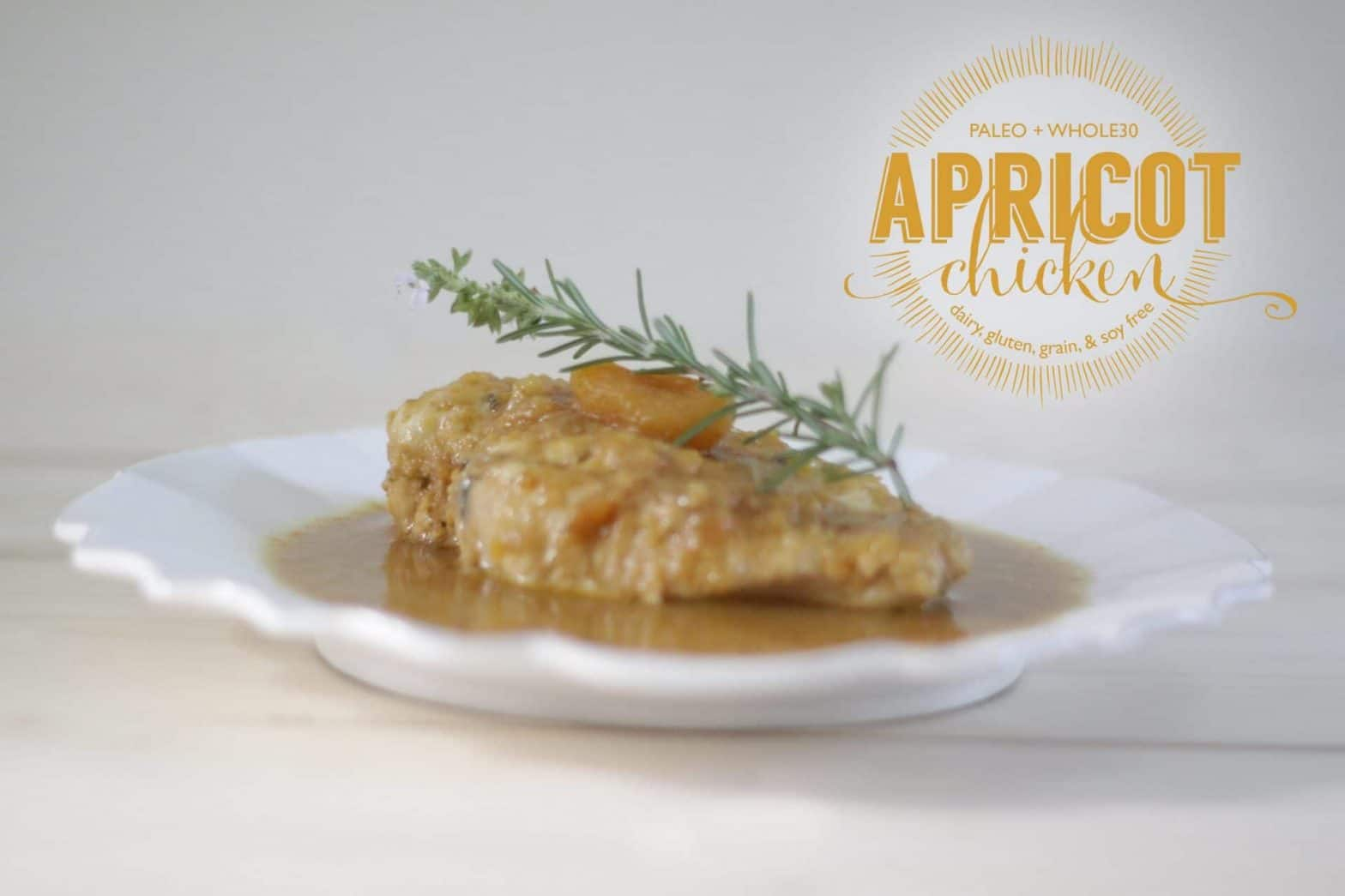 Paleo Apricot Chicken Recipe