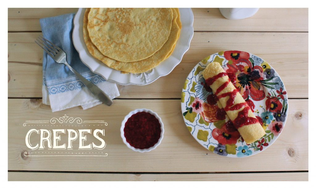 Crepes Recipe Cards