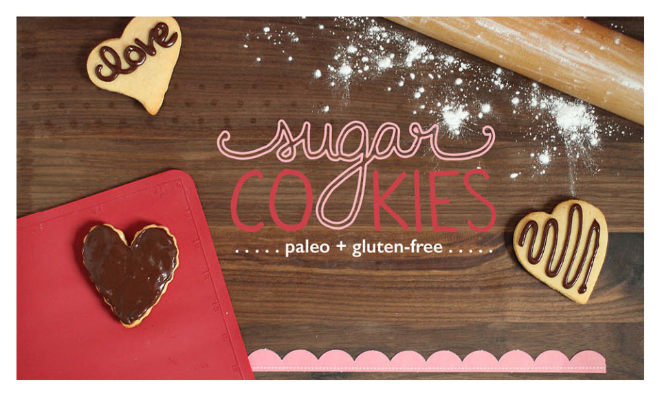 Paleo Sugar Cookies Recipe Cards #paleo #paleorecipes #oliveyouwhole