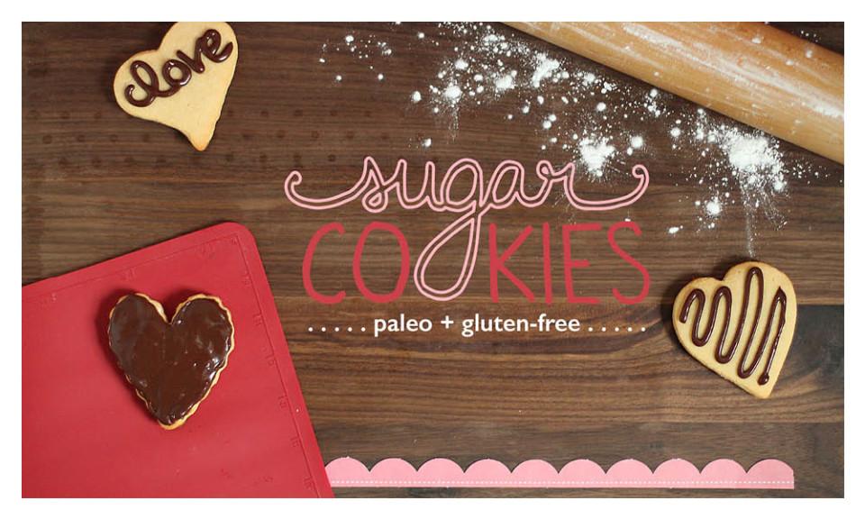 Paleo Sugar Cookies Recipe Cards #paleo #paleorecipes #oliveyouwhole