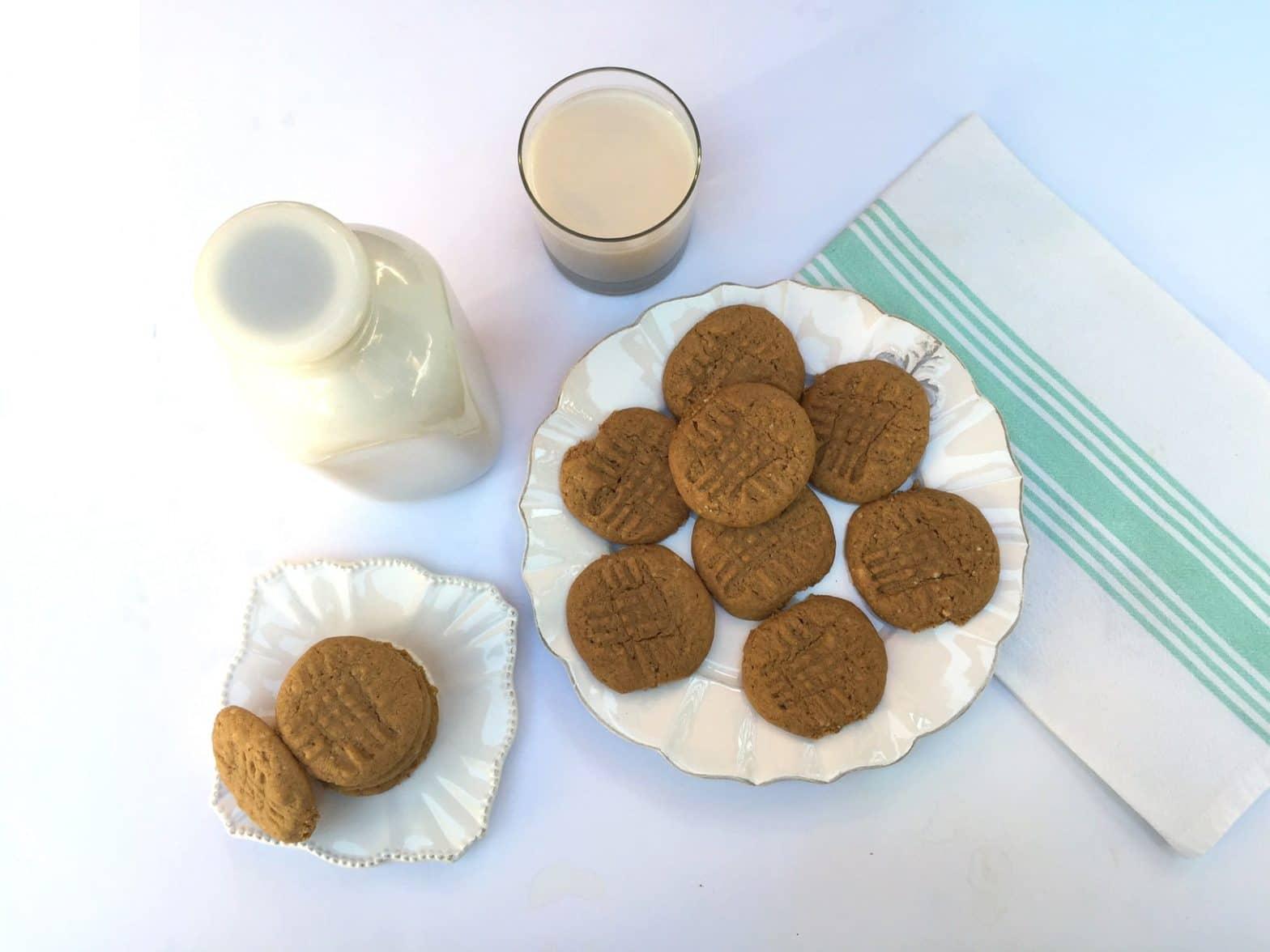 Paleo Almond Butter Cookies Recipe