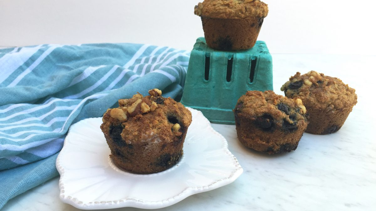 America's Test Kitchen Paleo Blueberry Muffins Recipe