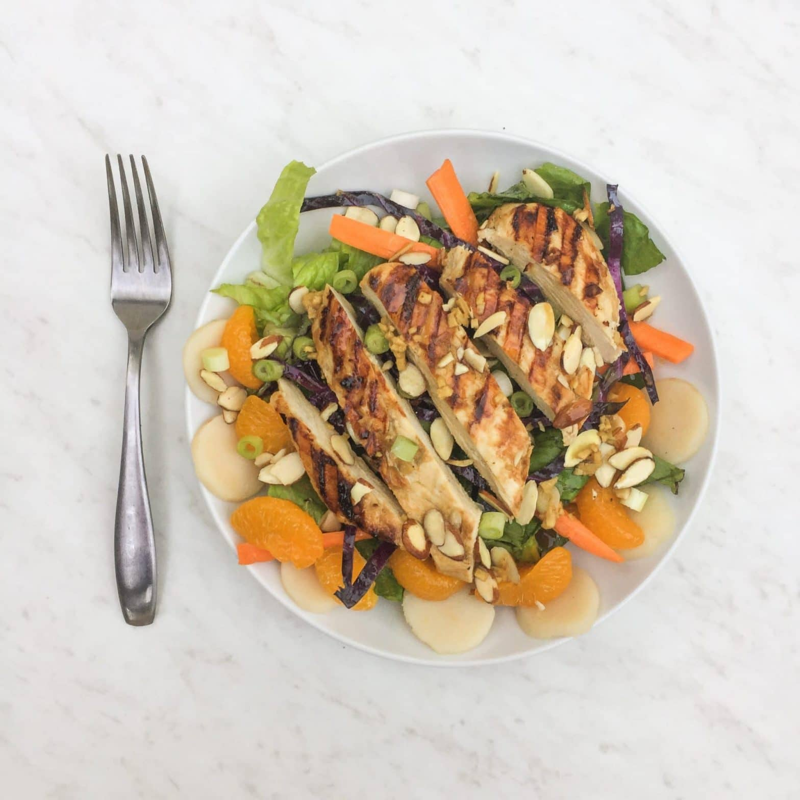 Whole30 + Paleo Asian Chicken Salad