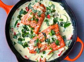 Crockpot-Coconut-Salmon-Curry