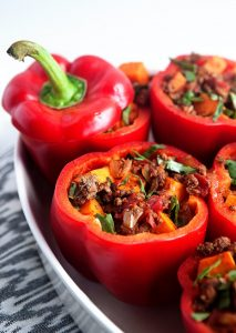 MerryMaker-Sisters-Whole-30-Stuffed-Peppers