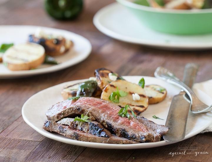 Whole30-Balsamic-Cilantro-Flank-Steak