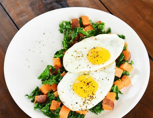 Whole30-Kale-Sweet-Potato-Hash