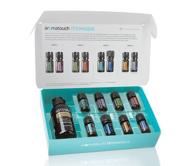 New doTERRA Aromatouch Diffused Kit