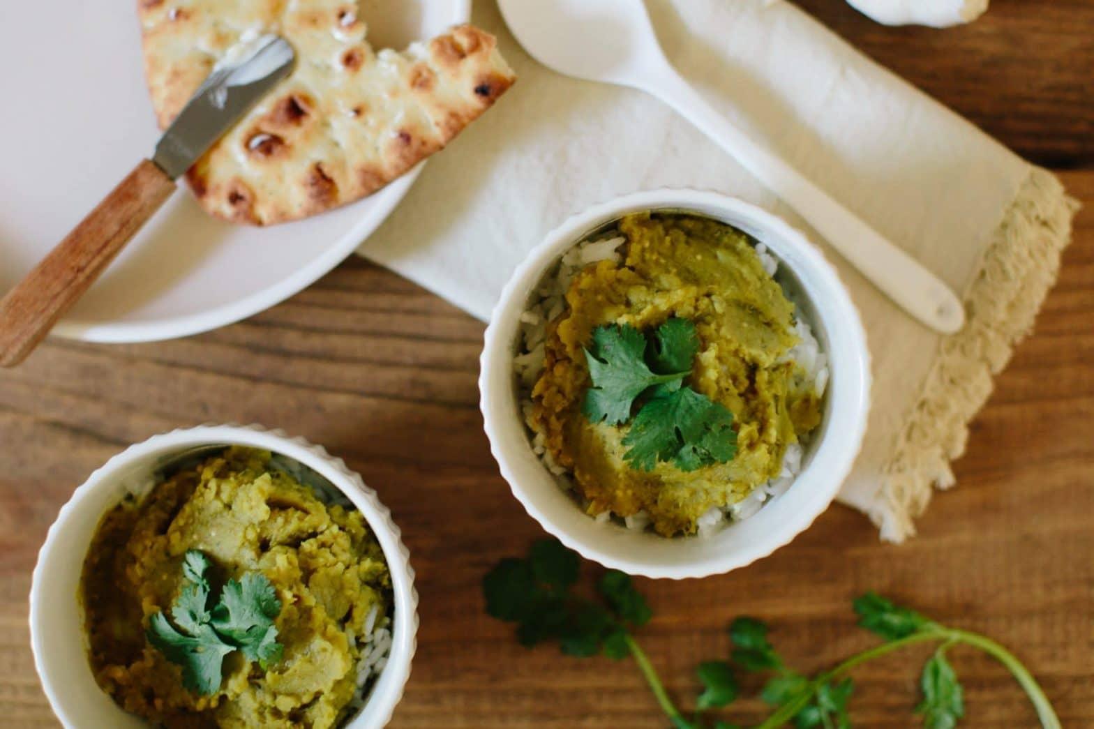 Indian Red Lentil Dal Recipe (Masoor Dal) Vegan + Vegetarian