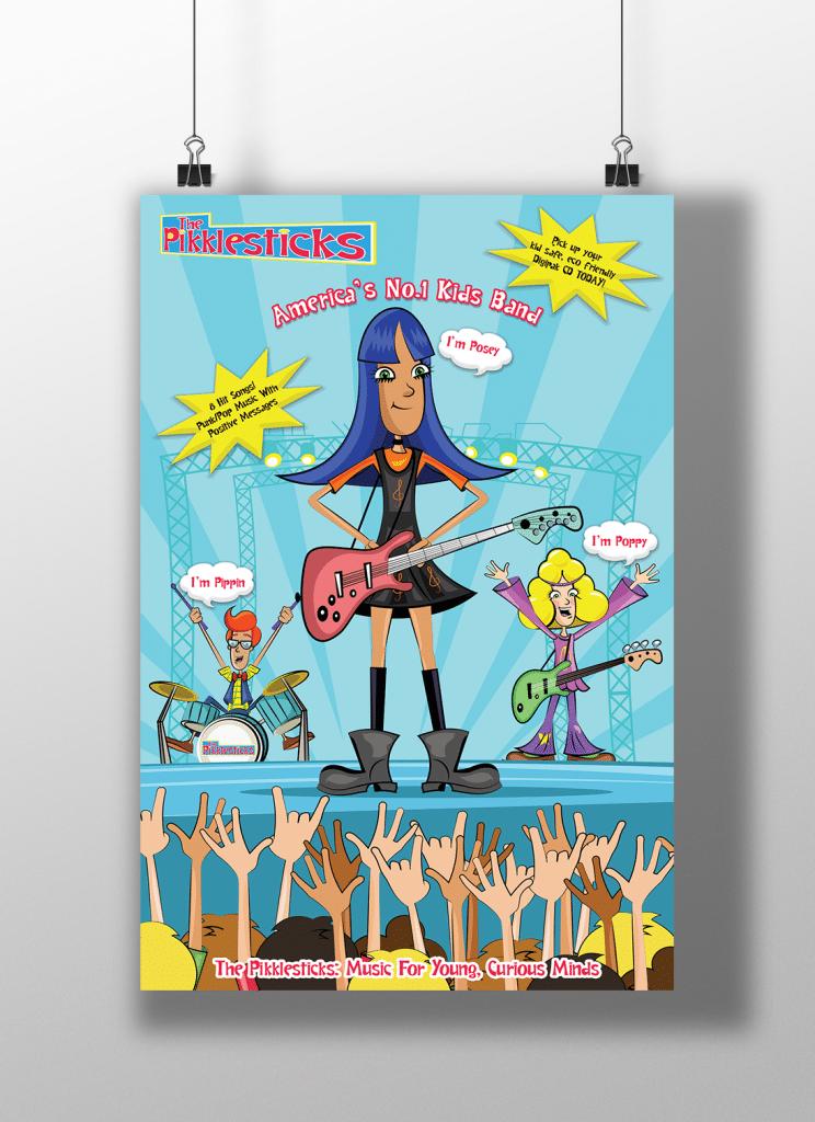 pikklesticks-poster