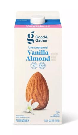 Good & Gather Vanilla Almond Milk