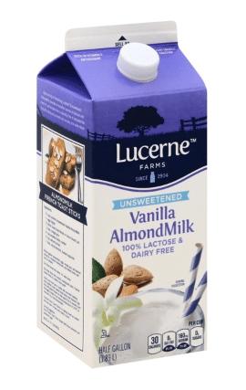 Lucerne Unsweetened Vanilla Almondmilk