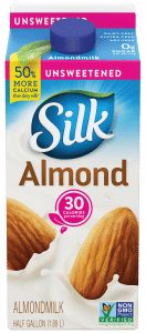 Whole30 Approved Almond Milk Brands | Silk Almond Milk