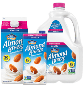 Whole30 Approved Almond Milk Brands | Almond Breeze