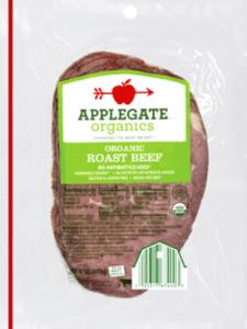 Whole30 Deli Meat | Applegate Organic Roast Beef