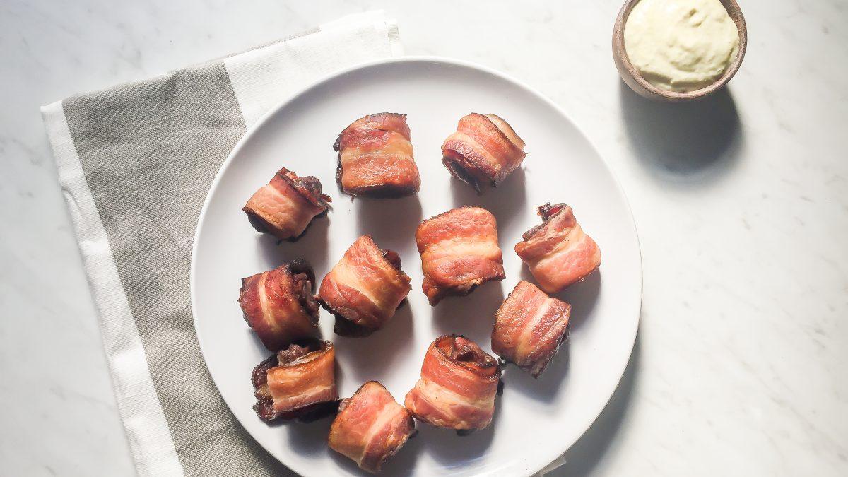Whole30 Bacon Wrapped Sirloin