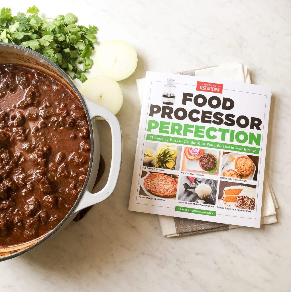 America S Test Kitchen Food Processor Perfection Cookbook