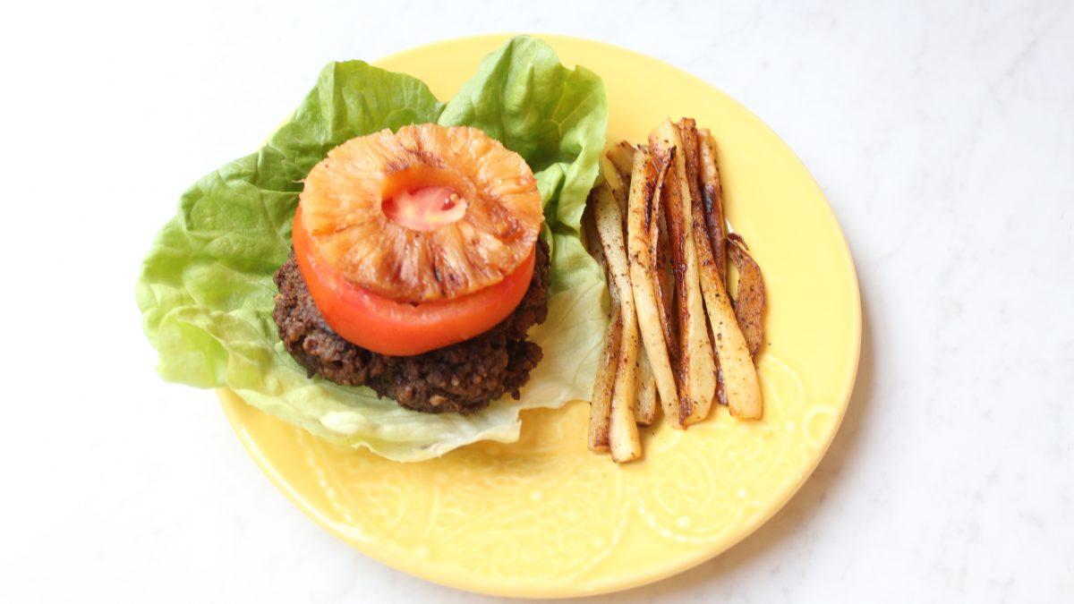 Jerk Burger Recipe