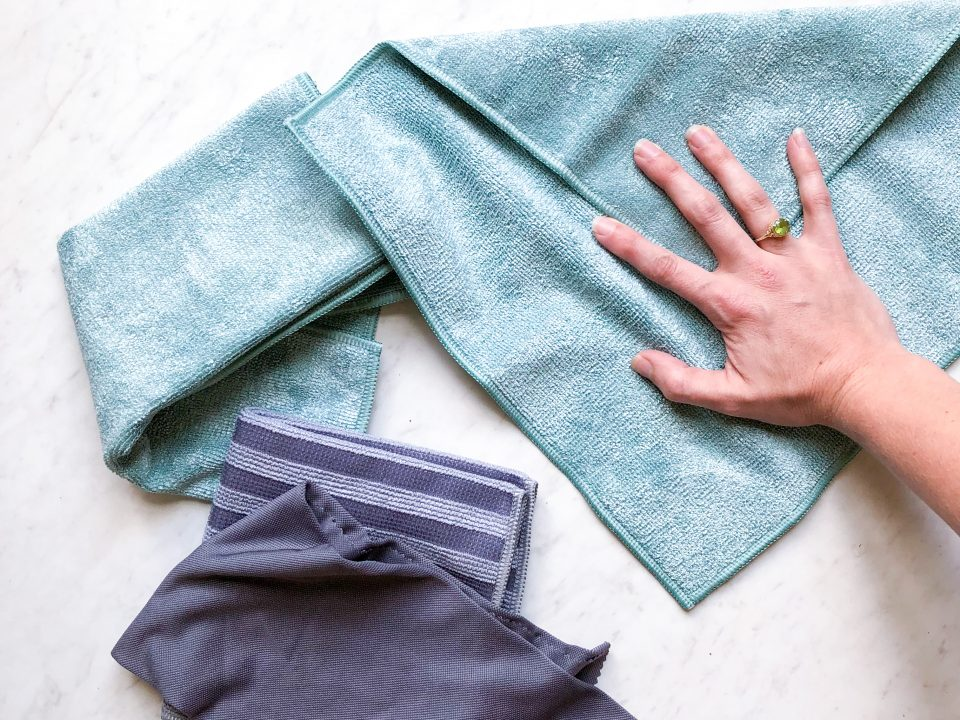 e-cloths clean with just water