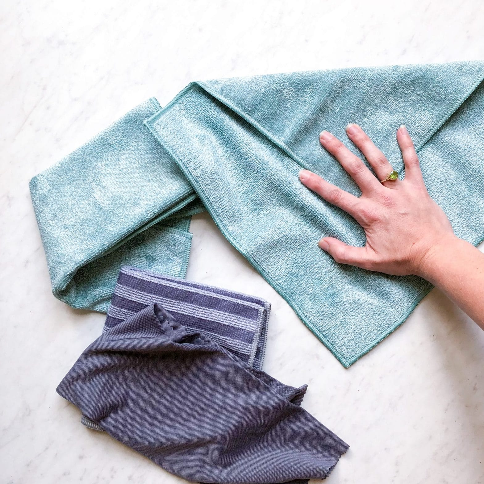 Clean with Just Water: e-cloths Review + Giveaway!