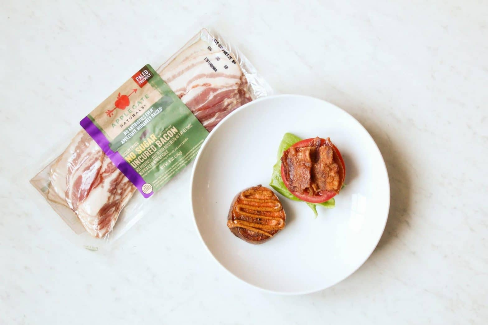 Applegate Whole30 Bacon | Whole30 BLT Sliders Recipe