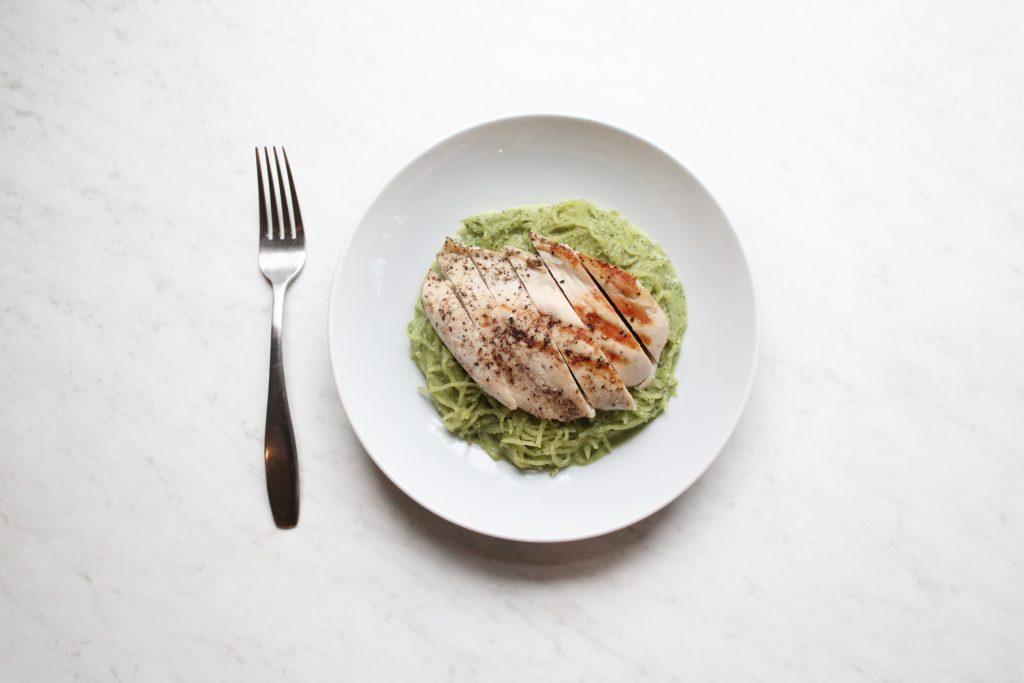 Whole30 Paleo Creamy Pesto Chicken Alfredo Recipe Olive You Whole