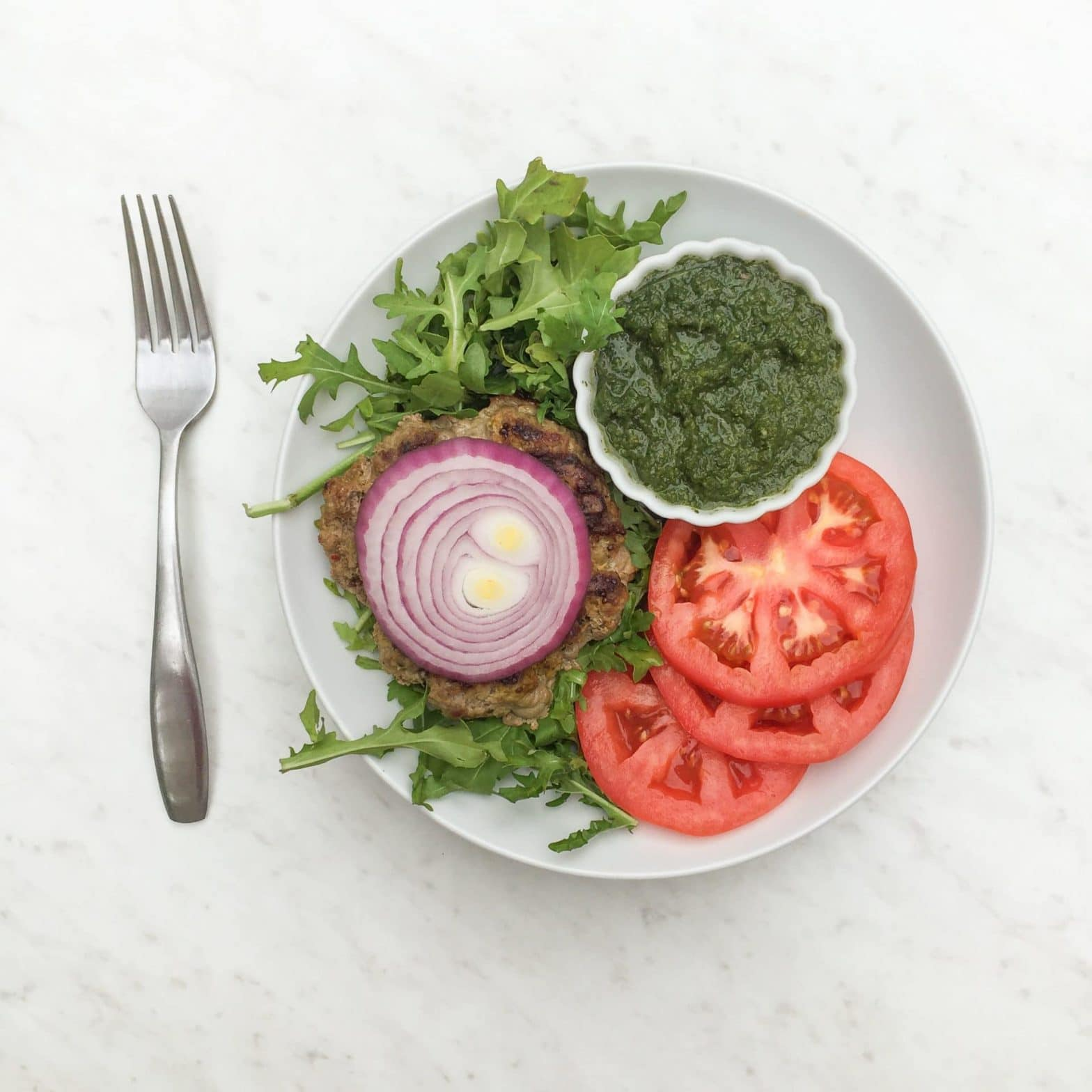 Whole30 + Paleo Indian Spiced Burger Recipe