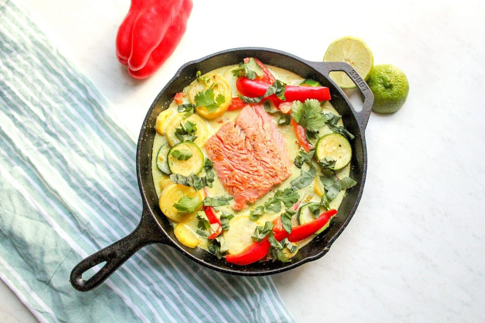 Paleo + Whole30 Lemongrass Salmon Recipe