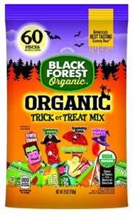 Healthy Halloween Candy Black Forest Organic Treat or Treat Mix