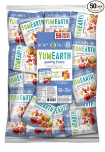 Healthy Halloween Candy YumEarth Gummy Bears