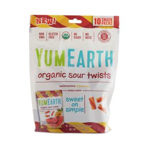Healthy Halloween Candy YumEarth Organic Sour Twists