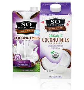 Whole30 Approved Coconut Milk | So Delicious Unsweetened Vanilla