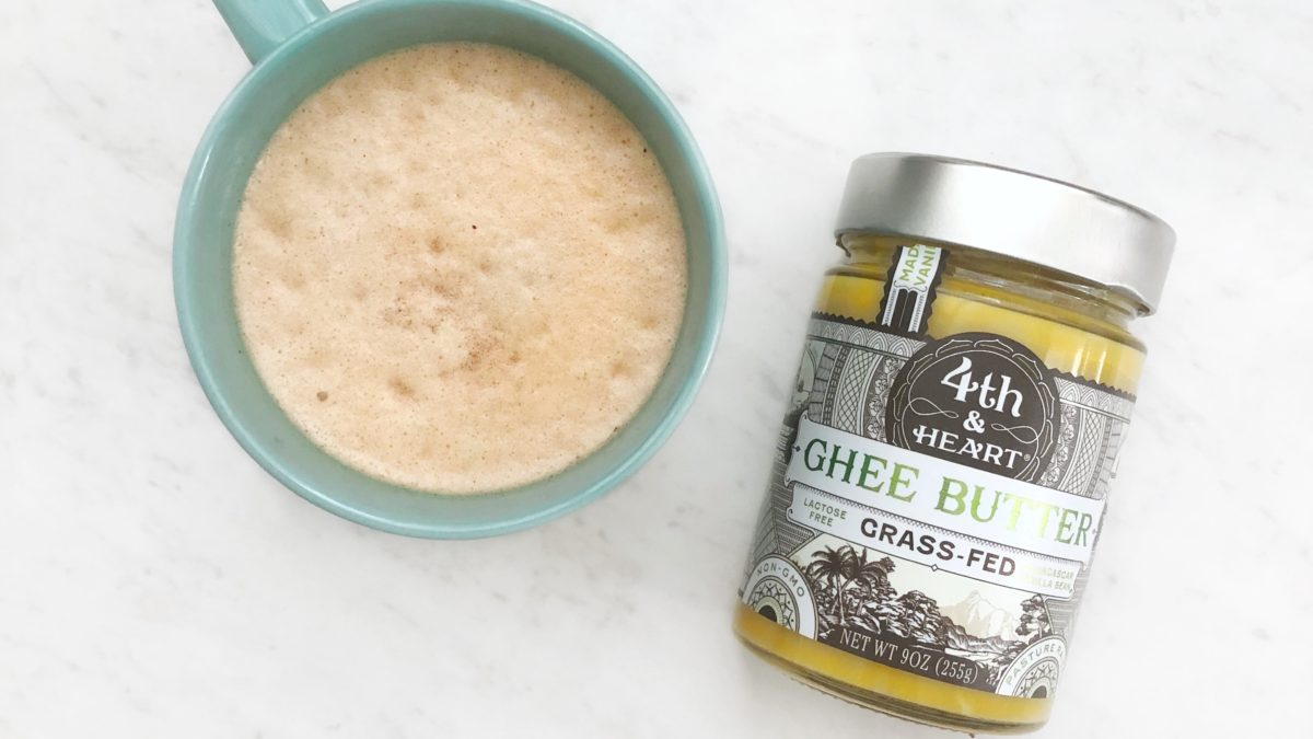 Paleo + Whole30 Bulletproof Coffee Recipe