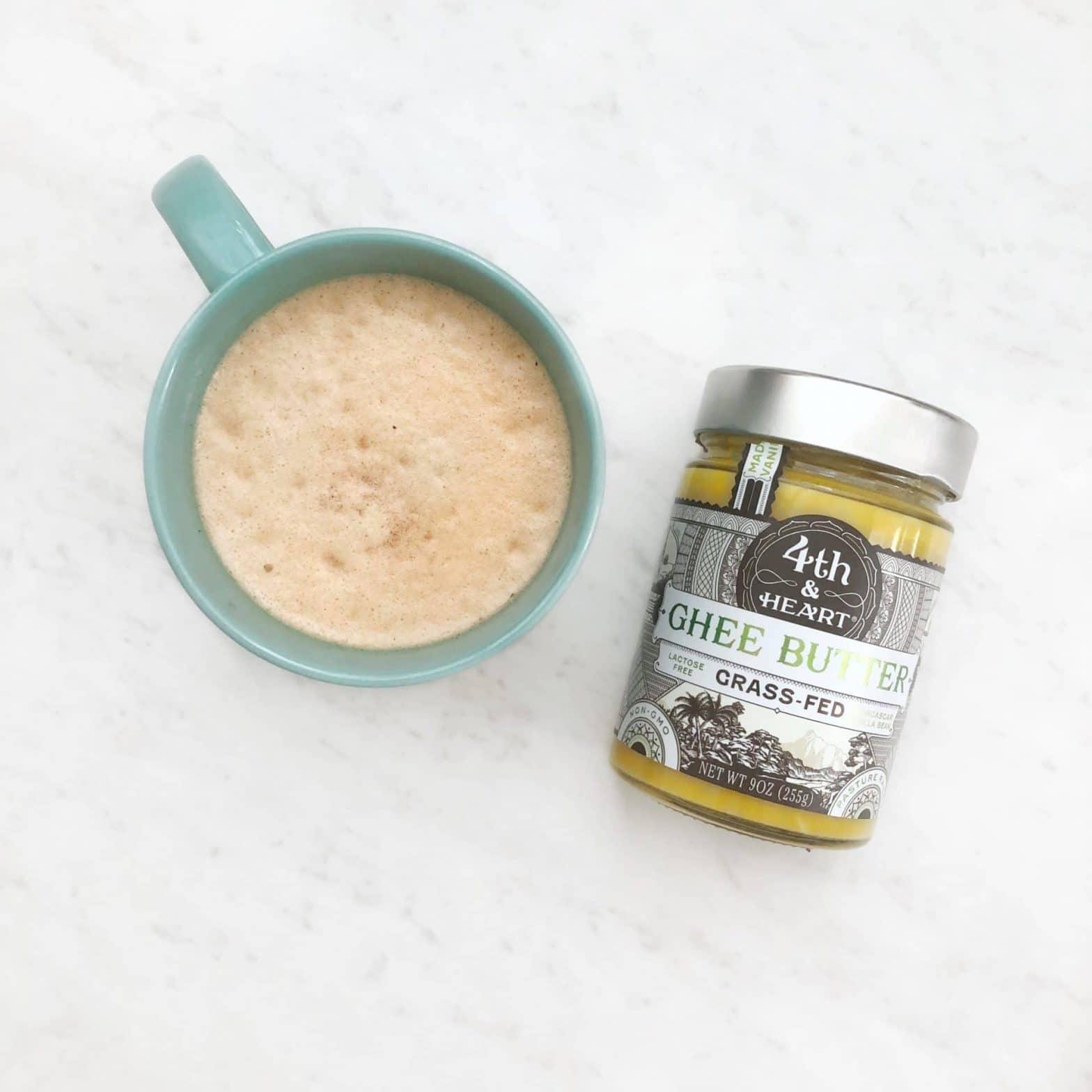 Paleo + Whole30 Bulletproof Coffee Recipe