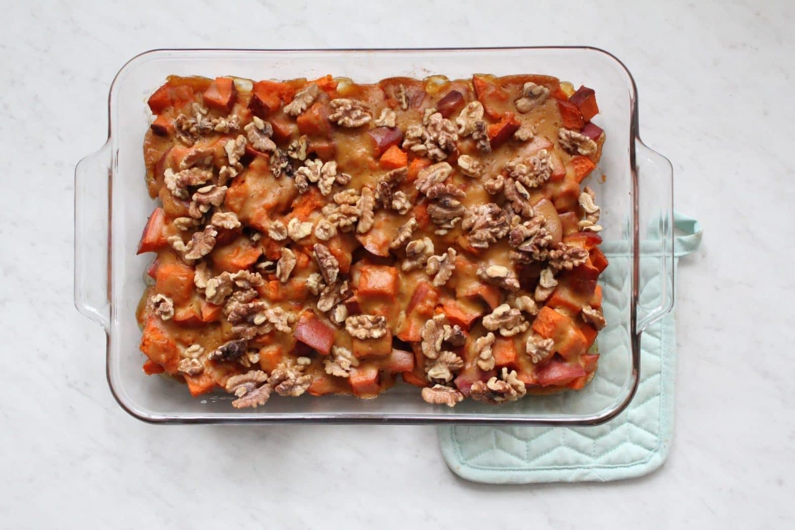 Paleo + Whole30 Sweet Potato Casserole Recipe