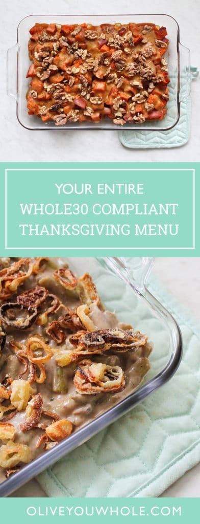 Paleo Whole30 Thanksgiving Recipes Roundup
