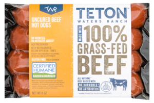 Whole30 Approved Hot Dogs Teton Waters Ranch Beef