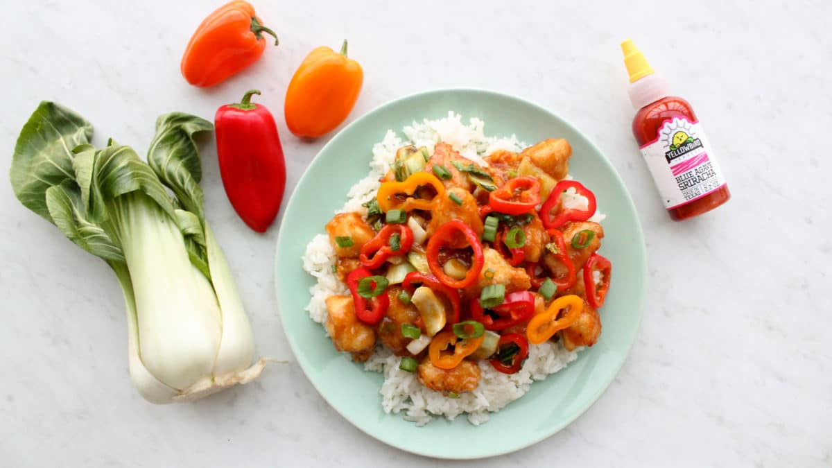 Healthy Paleo Whole30 General Tso's Chicken Recipe