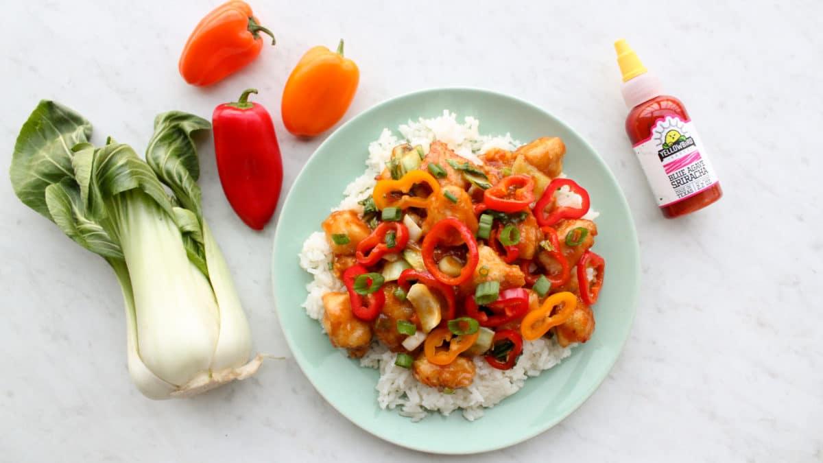 Healthy Paleo Whole30 General Tso's Chicken Recipe