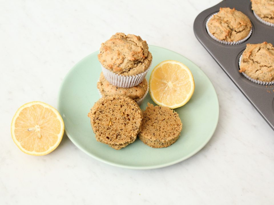 Paleo Lemon Poppyseed Muffins Recipe