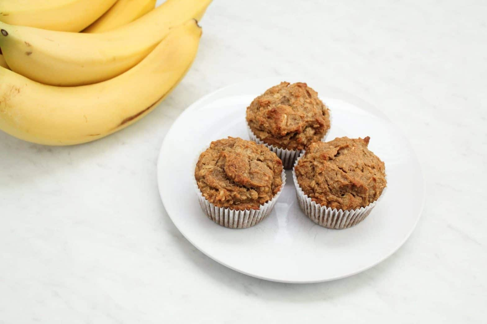 Gluten Free Banana Nut Oat Muffins Recipe