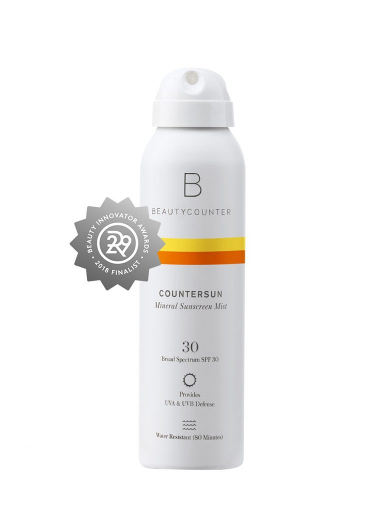Safest Spray Sunscreens 2019 Beautycounter Mineral Sunscreen Mist