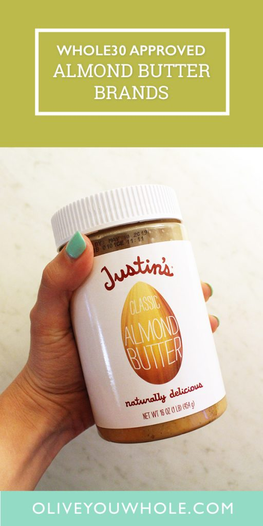Whole30 Approved Almond Butter Brands
