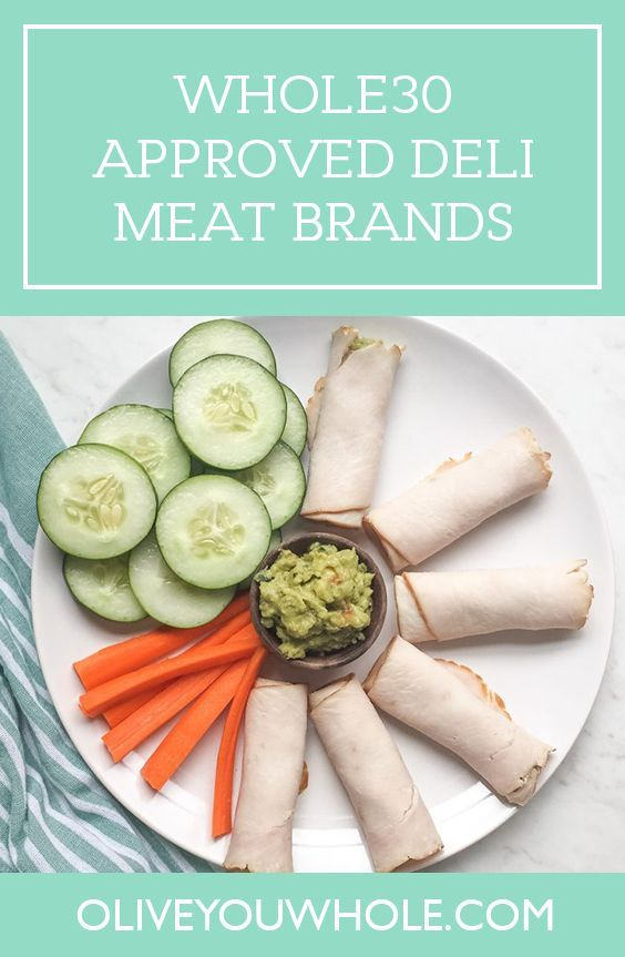 Whole30 Approved Deli Meat