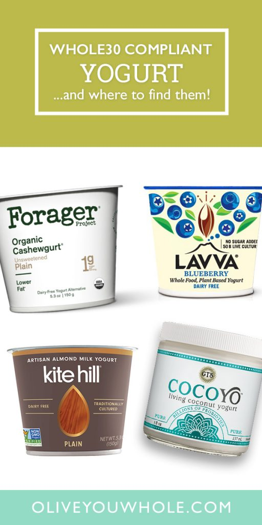 Whole30 Approved Yogurt Brands